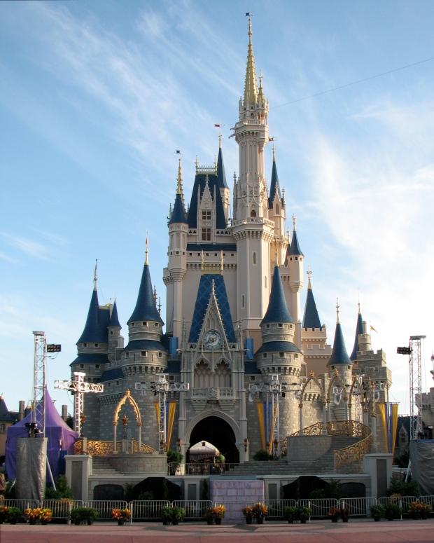 Le Château de Cendrillon, à Walt Disney World, Wikipédia